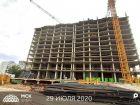 Ход строительства дома Литер 1 в ЖК Рубин - фото 21, Июль 2020