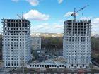 Ход строительства дома № 1 второй пусковой комплекс в ЖК Маяковский Парк - фото 35, Май 2021