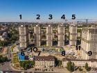 Ход строительства дома Литер 1 в ЖК Звезда Столицы - фото 10, Сентябрь 2020