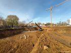 Ход строительства дома № 2 в ЖК Книги - фото 46, Октябрь 2020