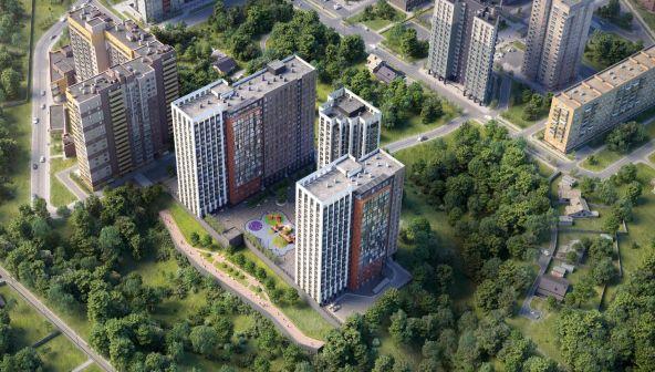 Жилой комплекс (ЖК) «КМ Тимирязевский» в Нижнем Новгороде