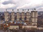 Ход строительства дома Литер 9 в ЖК Звезда Столицы - фото 7, Апрель 2021