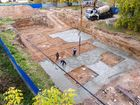 ЖК Волжский-Берег - ход строительства, фото 35, Октябрь 2017