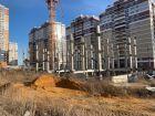ЖК Горизонт - ход строительства, фото 114, Октябрь 2019