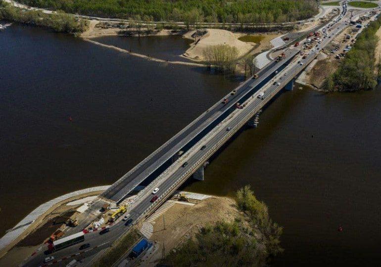 В Самаре 18 мая 2021 года открылось движение по новому мосту через реку Сок