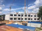 Ход строительства дома 61 в ЖК Москва Град - фото 39, Июнь 2019