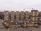 Ход строительства дома Литер 9 в ЖК Звезда Столицы - фото 10, Март 2021