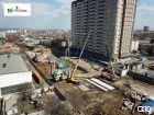 Ход строительства дома ул. Мечникова, 37 в ЖК Мечников - фото 62, Апрель 2019