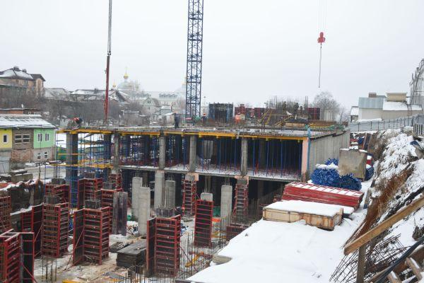 Строительство хирургического корпуса онкодиспансера в Воронеже
