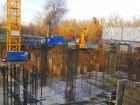 Ход строительства дома Литер 1 в ЖК Грин Парк - фото 10, Январь 2021