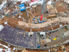 Ход строительства дома № 5 в ЖК Ватсон - фото 32, Апрель 2021