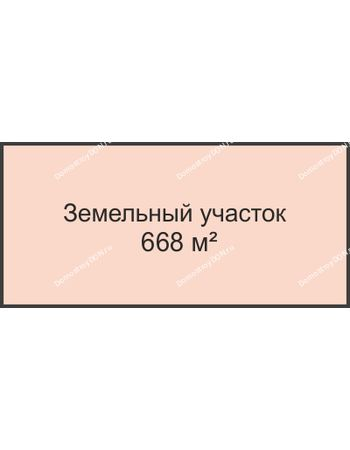 Студия 668 м² в КП Ясно-Радово, дом Участок 668 м²