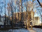 Ход строительства дома №1, секция 2 в ЖК Заречье - фото 15, Январь 2021