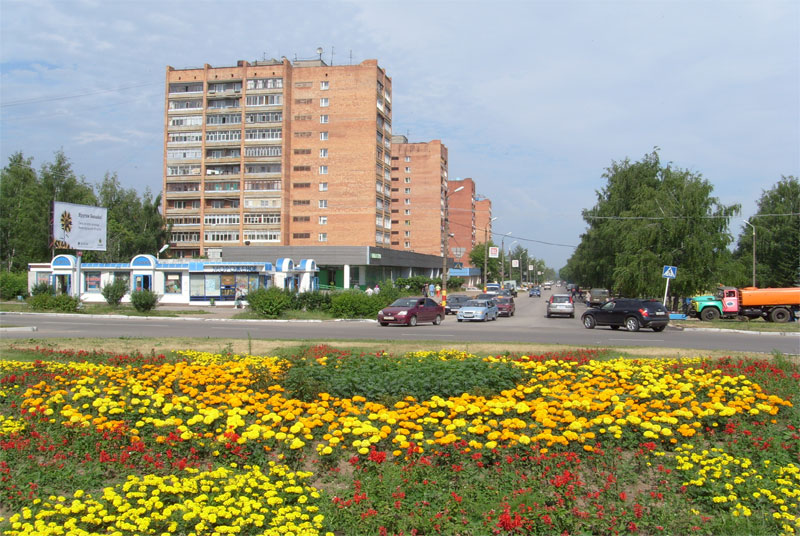 город кстово фото территория, которой заметно